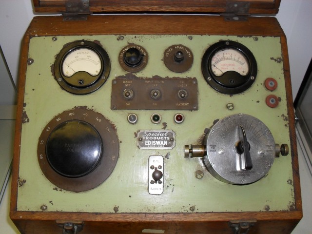 An ECT machine from Glenside, c.1943
