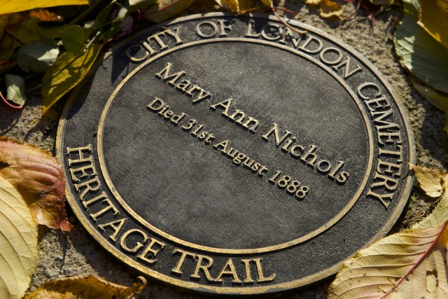 Mary Ann Nichols' plaque © Simon Montgomery