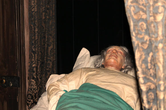 Cromwell's Deathbed © Sophie Collard