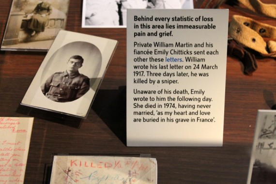 Private William Martin, who was killed in the First World War. © Sophie Collard