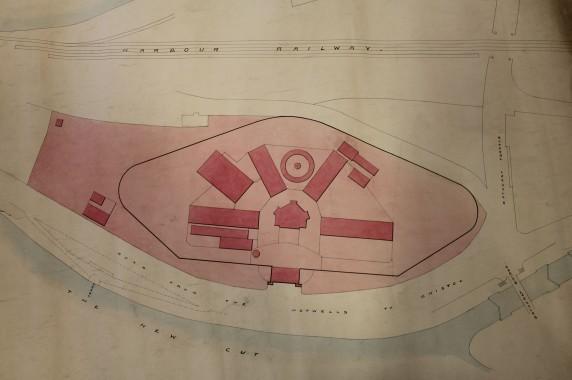 A plan of Bristol New Gaol © Bristol Record Office