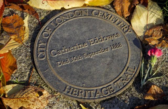 Catherine Eddowes' plaque © Simon Montgomery
