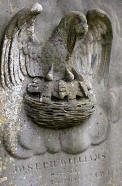 Joseph Williams' grave, Arnos Vale Cemetery © Katherine Conlon
