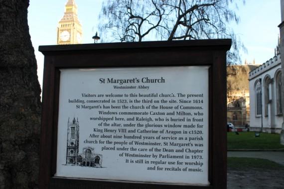 St. Margaret's Westminster © Sophie Collard