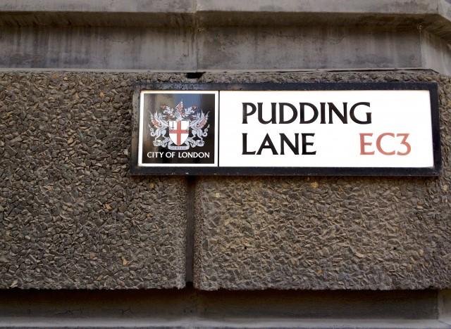 Pudding Lane © Simon Montgomery