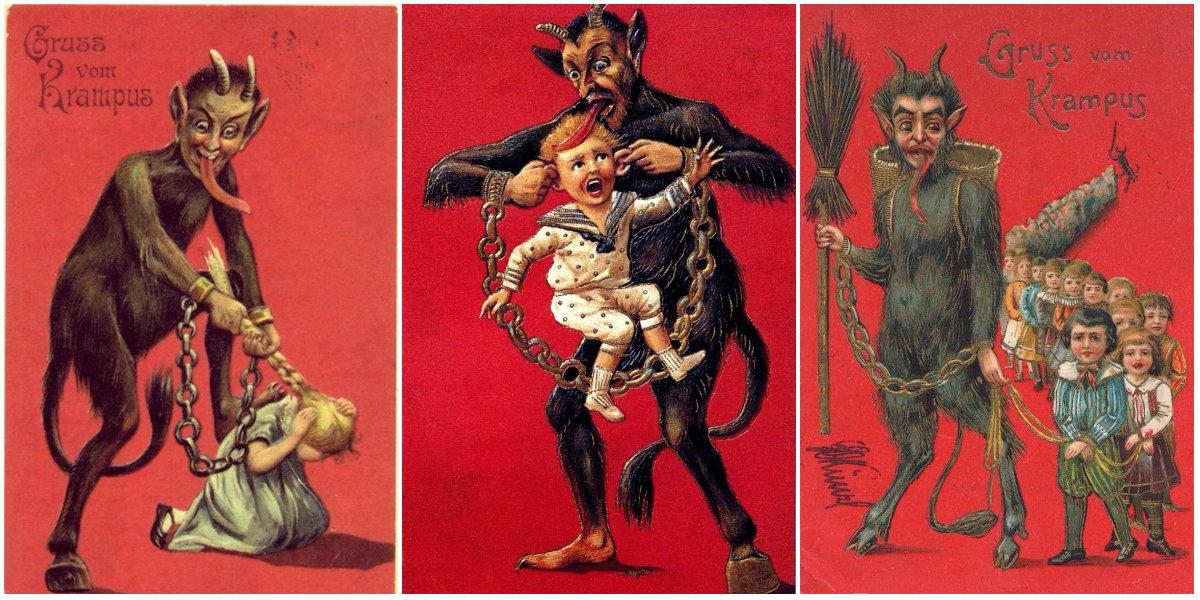 Krampus Christmas Demon Krampusnacht