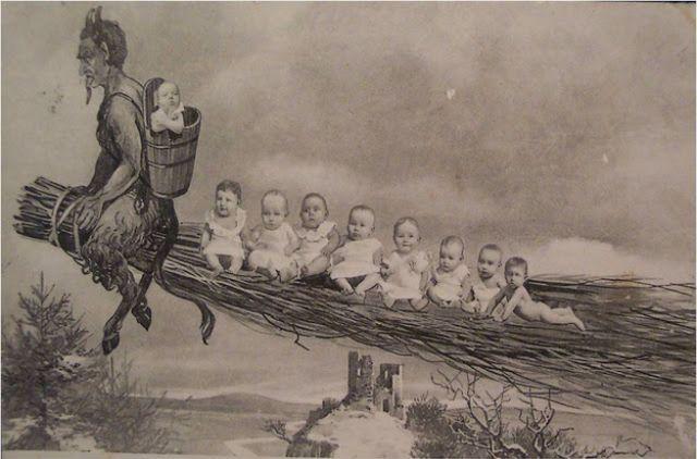 Krampus Christmas Demon Krampusnacht Cards